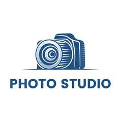 Logo for photographer logo design vector