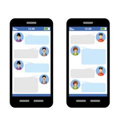 messenger concept vector image