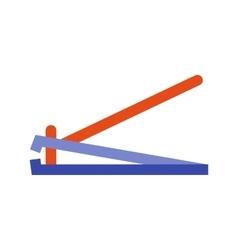 Nailcutter vector image