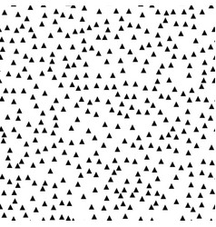 Seamless black white abstract pattern memphis vector
