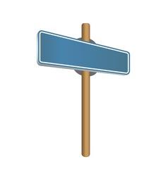 StreetSIGN blue vector