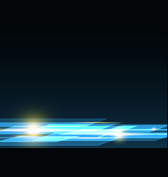 Technology future rectangle light stripe vector