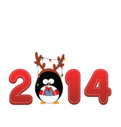 Welcome 2014 vector image