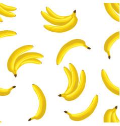 bananas seamless pattern vector image vector image