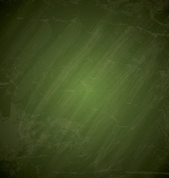 Green chalkboard background vector image vector image