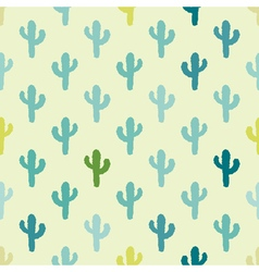 seamless background with symbols of Mexico vector image