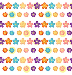 A flowery wallpaper design vector