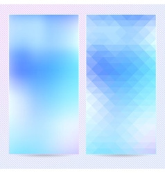 Abstract background template banner or postcard vector