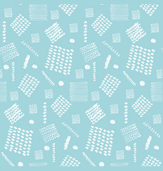 tender scandinavian pattern with white elements vector image
