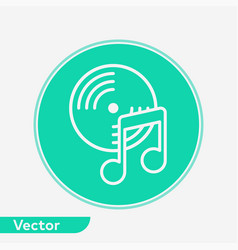 vinyl icon sign symbol vector image