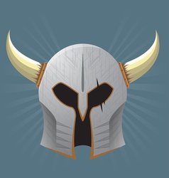 Warrior Helmet vector