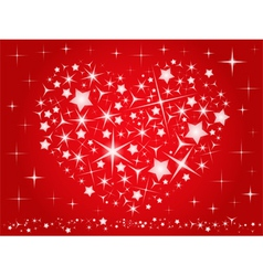 valentines day card vector image
