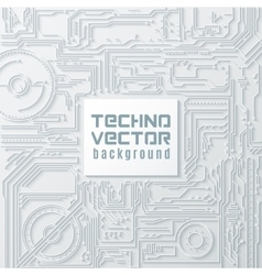 Circuit Background vector image vector image
