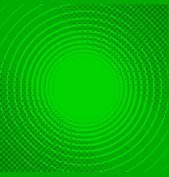 Abstract green funny background vector