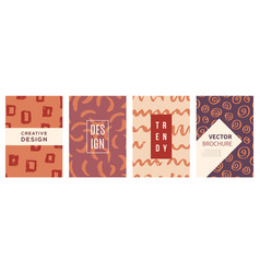 covers set background texture vector image