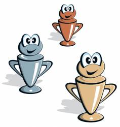 Cup cartoon vector