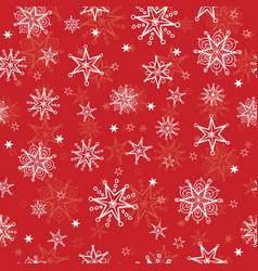 Holiday red hand drawn christmas vector