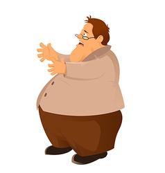 Hungry fatso vector