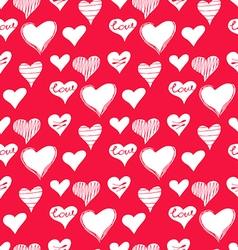 Love pattern2 vector