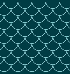 Mermaid tail seamless pattern vector