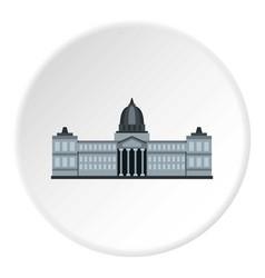 National congress building argentina icon circle vector