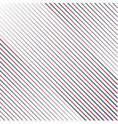 oblique pattern usa colors background vector image