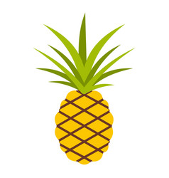 pineapple icon isolated vector image