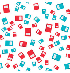 seamless pattern abstract back to school poster vector image