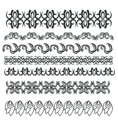 Set of border elements vector