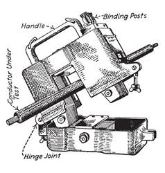 Transformer vintage vector