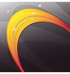 Metal orange abstract modern background vector image
