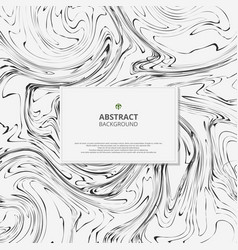 Abstract of marble black and white background vector