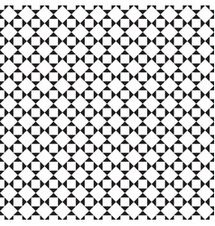black and white tile chessboard pattern vector image