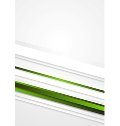 Elegant green stripes background vector