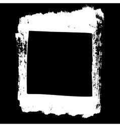 grunge template shape vector image