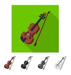 Isolated object of music and tune symbol vector