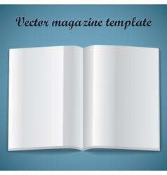 magazine vector image