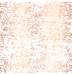 Rose gold foil grunge texture seamless vector