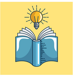 Text books handmade drawing vector