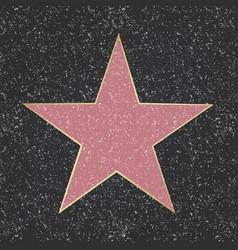 Fame star vector