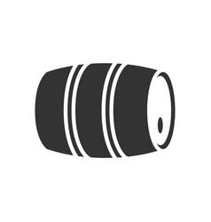 barrel beer icon vector image