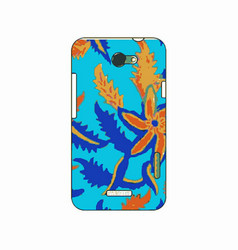 batik phonecase 13 vector image
