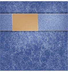 Blue jeans background folds background vector