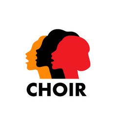 Choir logo vector
