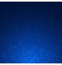 Computer circuit board vector image