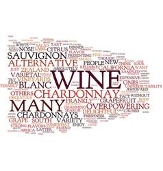 Joys sauvignon blanc text background word vector