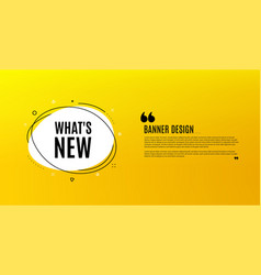 whats new symbol special offer sign vector image