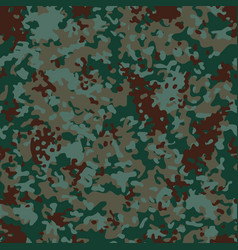 euro flectarn camouflage seamless patterns vector image vector image
