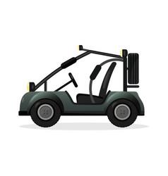 off road buggy car design element vector image