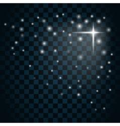 Shine star sparkle icon 13 vector image vector image